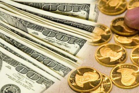 کاهش قیمت طلا، سکه و ثبات نرخ ارز