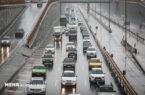 ترافیک چهارشنبه سنگینتر از روزهای قبل است
