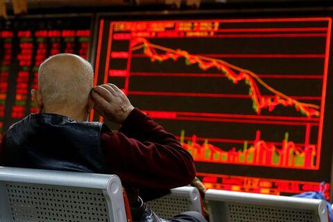 افت در بازار سهام آسیا