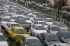 امروز ترافیک در معابر پایتخت سنگین گزارش شده است