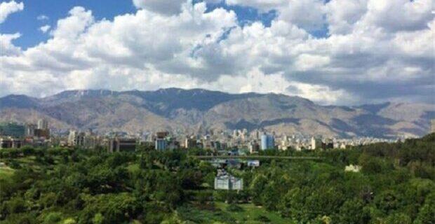 کیفیت هوای تهران در شرایط «قابل قبول» قرار دارد
