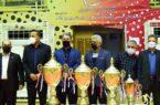 برگزاری اختتامیه مسابقات فوتسال جام دهه فجر کارکنان پتروشیمی امیرکبیر