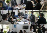 جلسه ممیزی وضعیت ارز دیجیتال شرکت بیمه آرمان برگزار شد