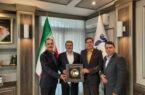 دیدار مدیرعامل شرکت بیمه حکمت با مدیرعامل هواپیمایی جمهوری اسلامی ایران