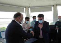 تقدیر از فعالان مراقبت پرواز فرودگاه بین المللی کیش